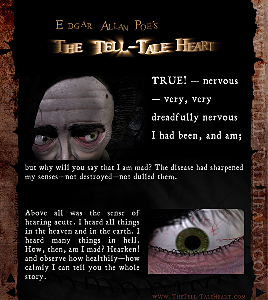 Essay tell tale heart edgar allen poe